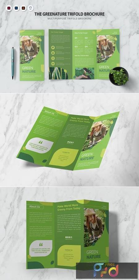 The Greenature Trifold Brochure KTEPLX6 1