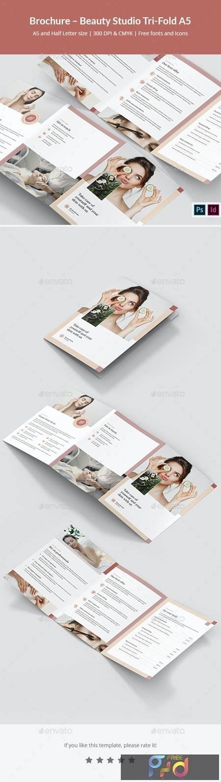 Brochure - Beauty Studio Tri-Fold A5 30890660 1