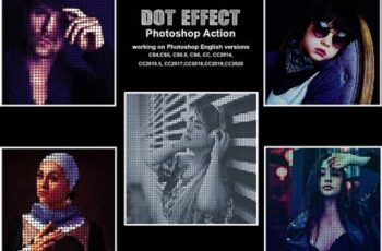 Dot Effect Photoshop Action 5417408 6