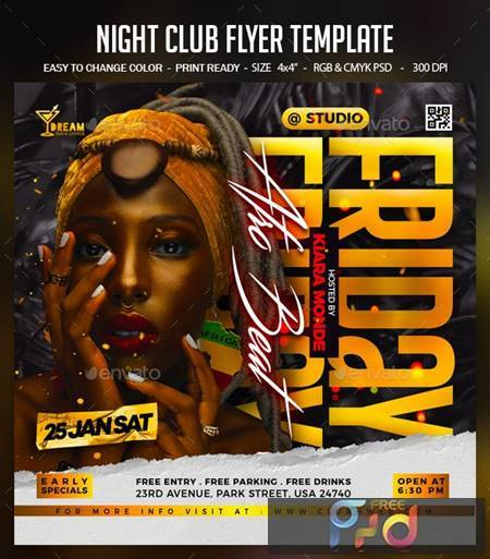 Night Club Flyer Template 30217144 1