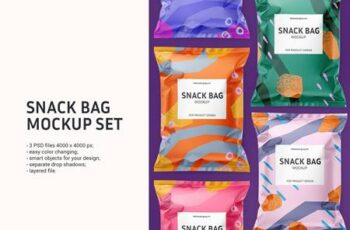 Snack bag mockup set 5960687 13