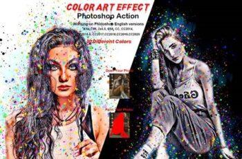Color Art Effect Photoshop Action 5898461 7