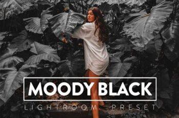 10 Moody Black Lightroom Presets FFVRKZM 6