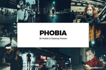 20 Phobia Lightroom Presets & LUTs NQD7MW3 4