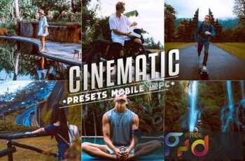 Cinematic Lightroom Presets Mobile & Desktop 77LGT96 3