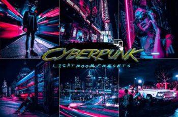 Cyberpunk Lightroom Presets P8LXHHD 5