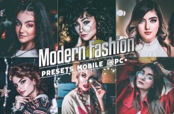 Modern Fashion Presets Mobile & Desktop Lightroom 4USZET4 5