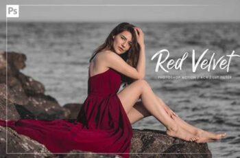 10 Red Velvet Ps Action, ACR, LUT 5892941 7