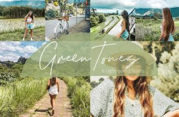 Green Tones - Lightroom Presets Pack 5937840 6