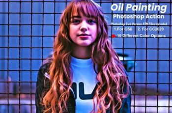 Oil Painting Photoshop Action V-2 5901162 8