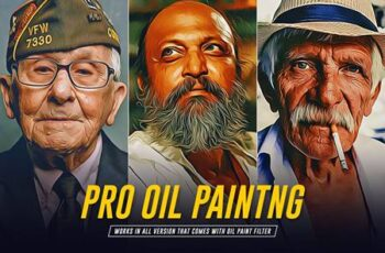Pro Oil Painting Photoshop Action 5903064 6
