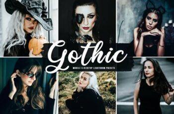 Gothic Mobile & Desktop Lightroom Presets TTMUTSF 3