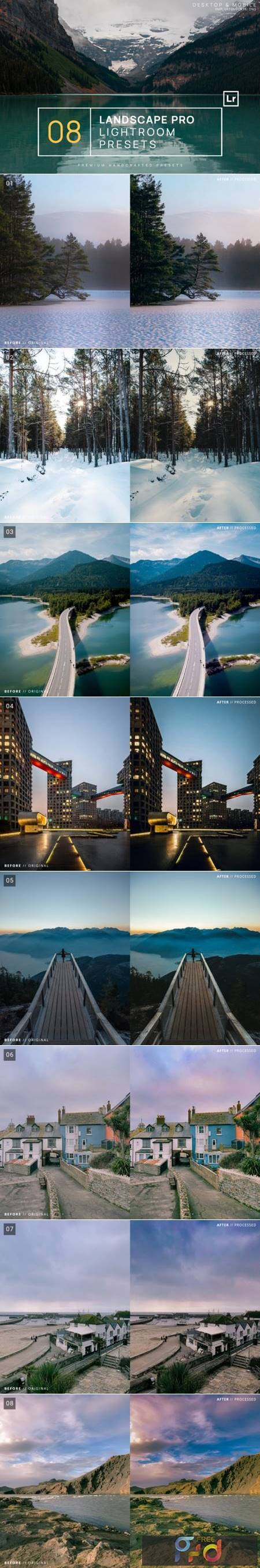 8 Landscape Pro Lightroom Presets 8306535 1