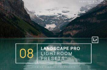 8 Landscape Pro Lightroom Presets 8306535 8