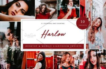 10 x Lightroom Presets, Harlow 5962562 5