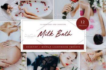 12 x Lightroom Presets, Milk Bath 5962573 4