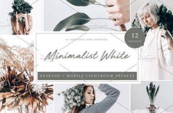 12 Lightroom Preset Minimalist White 5962580 7