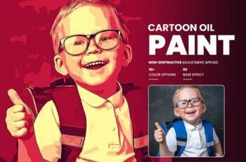 Cartoon Oil Painting Photoshop FX 5907204 4