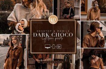 DARK CHOCO - Lightroom Presets 5908354 5
