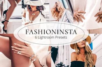 Fashioninsta - Lightroom Preset Set 5872565 11