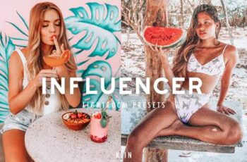 6 INFLUENCER LIGHTROOM PRESETS 5879570 7