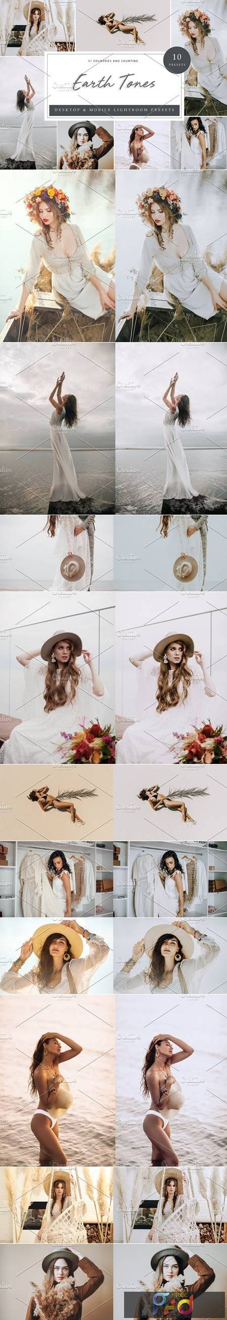 10 x Lightroom Presets, Earth Tones 5962531 1