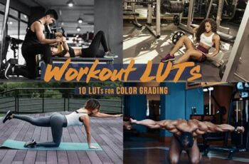 Workout - Sports LUTs Bundle 5872522 11
