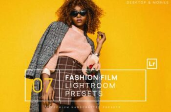 7 Fashion Film Lightroom Presets +Mobile 8308322 14