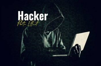 Hacker Matrix Photo Effect 5994229 5