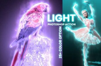 Light Photoshop Action 5922486 5