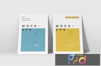 A4 Flyer-Poster Mockups BCH9N7Y 4