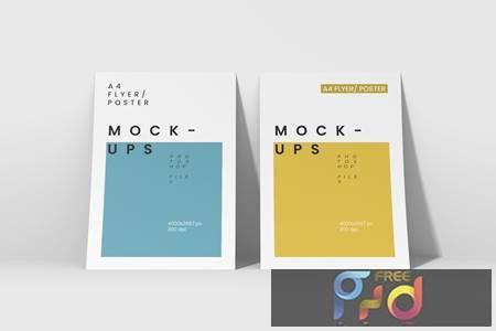 A4 Flyer-Poster Mockups BCH9N7Y 1