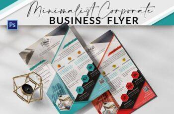 Minimalist Corporate Business Flyer ECWPWDF 13