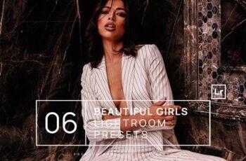 6 Beautiful Girls Lightroom Presets + Mobile 57MAK9J 7