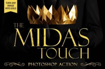 The Midas Touch Gold Photoshop Action 9036908 10