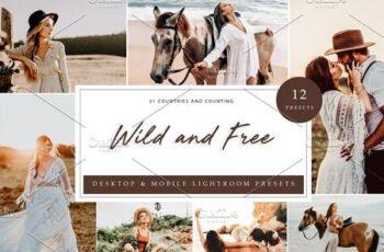 12 x Lightroom Presets Wild And Free 5962700 3