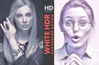 White HDR Photoshop Action 5927634 6