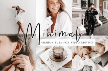Clean Minimal LUTs for Video Editing 5917244 1