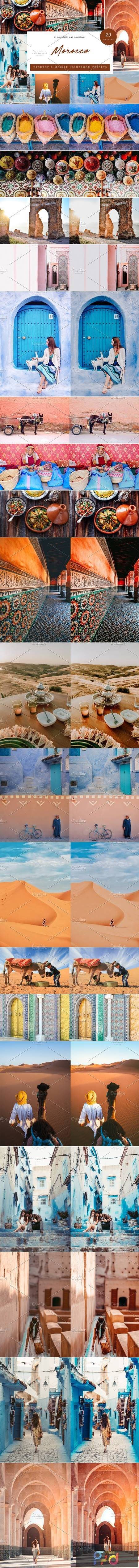 20 x Lightroom Presets, Morocco 5962635 1