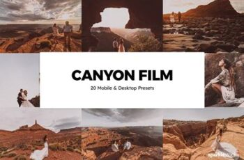 20 Canyon Film Lightroom Presets & LUTs THPKX7H 6