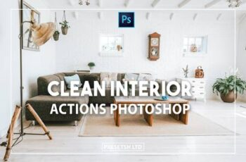 Clean Interior Photoshop Actions 2P8HFNV 2