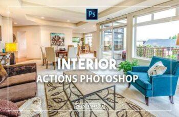 Interior Photoshop Actions 9XKQPD6 5
