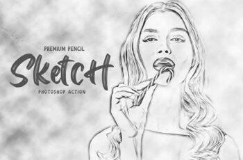 Pencil Sketch Photoshop Action 5928725 4