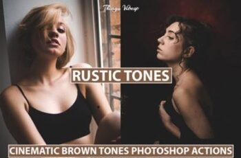 5 Photoshop Actions Rustic Tones 8566327 9