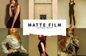 10 Matte Film Lightroom Presets 5978562 5