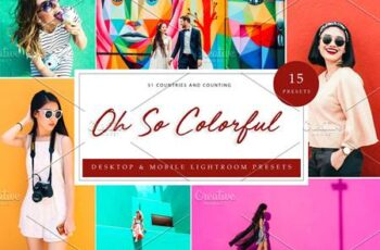 15 Lightroom Presets, Oh So Colorful 5962681 6