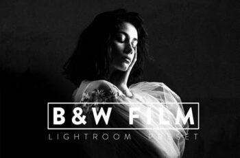 10 Black and White Film Lightroom Preset MV72RF2 2