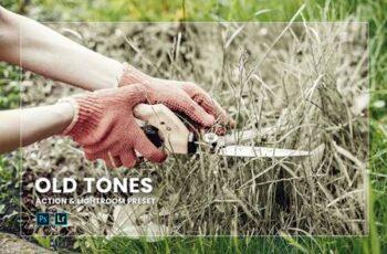 Old Tones Action & Lightroom Preset 4KQPTSP 6