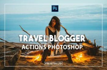 Travel Blogger Photoshop Actions YM7DEVV 5