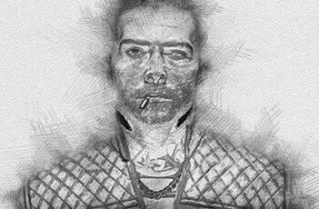 Sketch Portrait - Pencil Photoshop Action 30365021 2